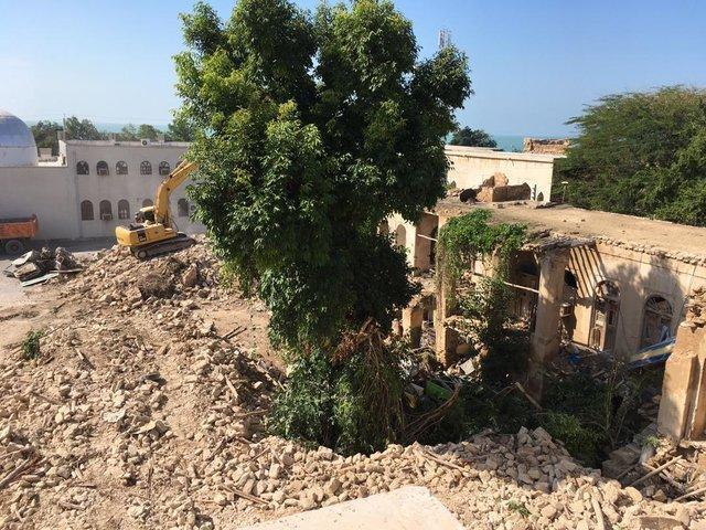 صدای اعتراض دومین مدرسه تاریخی بوشهر بلند شده...