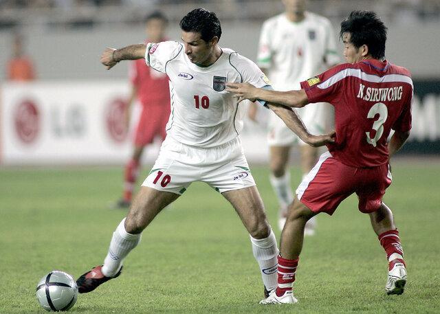 علی دایی در بین 30 رکورددار گلزنی در دنیا فوتبال