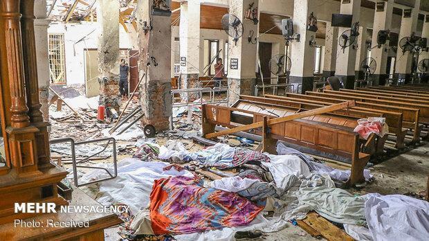 سریلانکا: یک شبکه بین المللی در انفجارهای دیروز دخیل است
