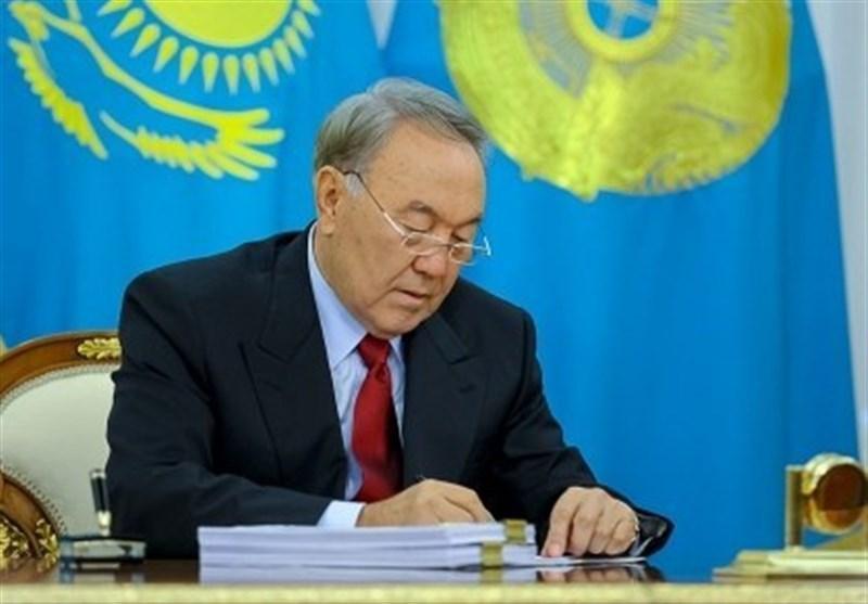 رئیس جمهور قزاقستان از سمت خود استعفا کرد