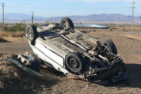 6 کشته و مجروح در واژگونی سواری پراید