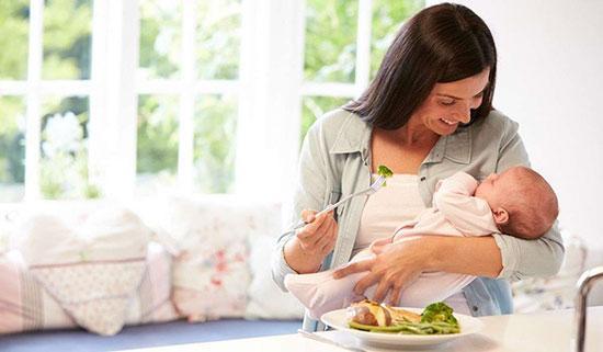 احتیاج های تغذیه ای مادر در دوران شیردهی