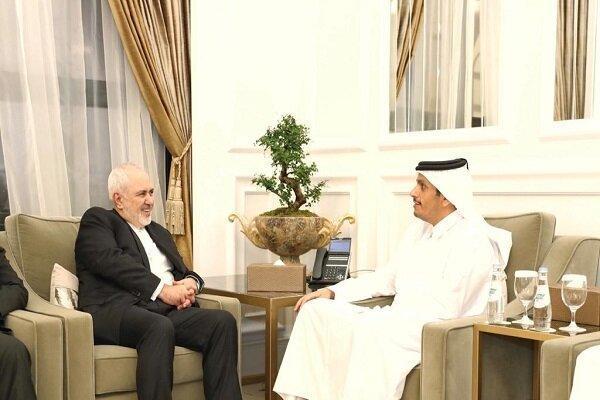 وزرای خارجه ایران و قطر دیدار کردند