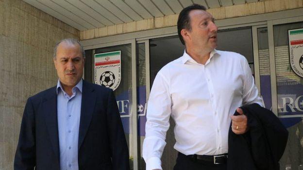 قرارداد یک و نیم میلیون دلاری ویلموتس با فدراسیون فوتبال ایران