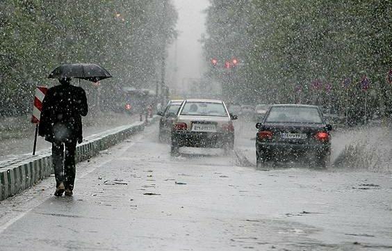 شروع بارش ها در مناطق غرب و شمال غرب کشور از فردا