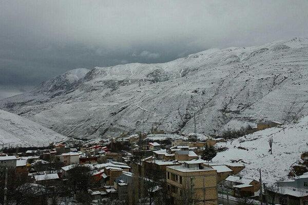 هوای زنجان سرد و برفی می شود
