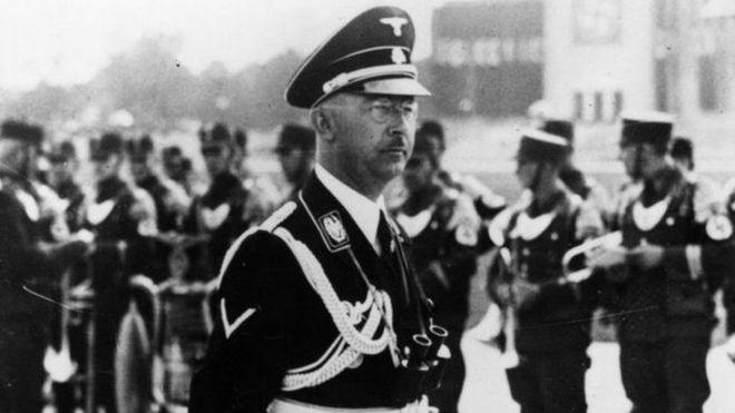 راز دستگیریهاینریش هیملر