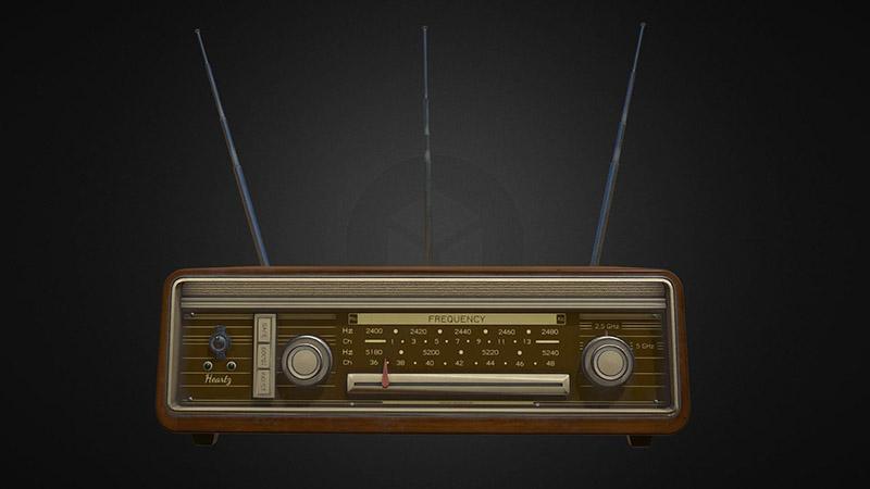 رادیو آنالوگ قدیمی یا روتر وای فای گیمینگ؟
