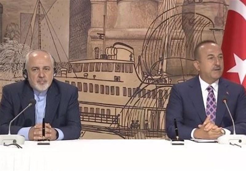 چاووش اوغلو: پروازها با ایران از ماه آگوست شروع می گردد، ظریف: در سرانجام ماه جاری انتقال گاز به ترکیه از سر گرفته می گردد