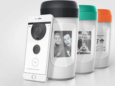 این لیوان قهوه عکس دلخواهتان را پخش می کند