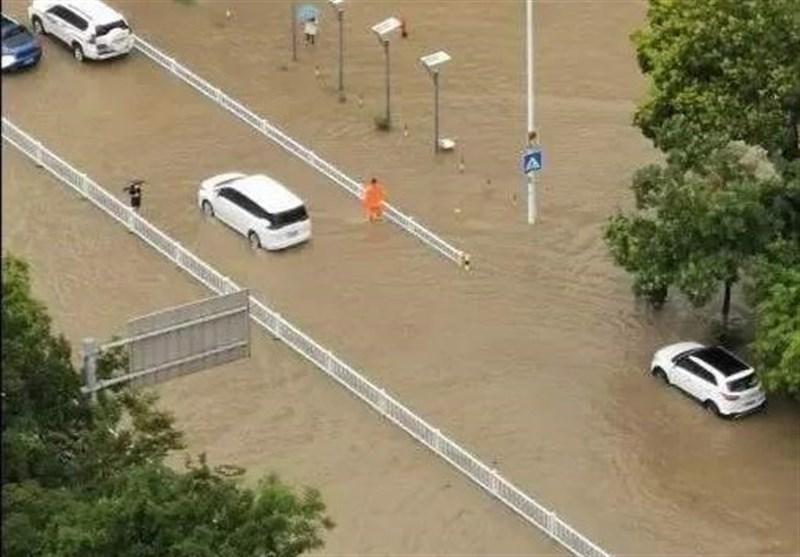 بیش از 33 میلیون نفر در 27 استان چین تحت تأثیر سیلاب قرار گرفتند