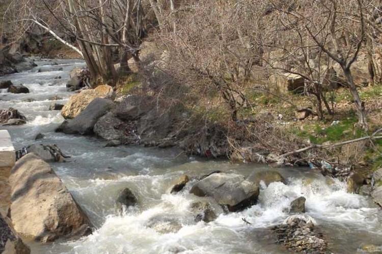 احتمال بالا آمدن آب رودخانه ها در استان تهران