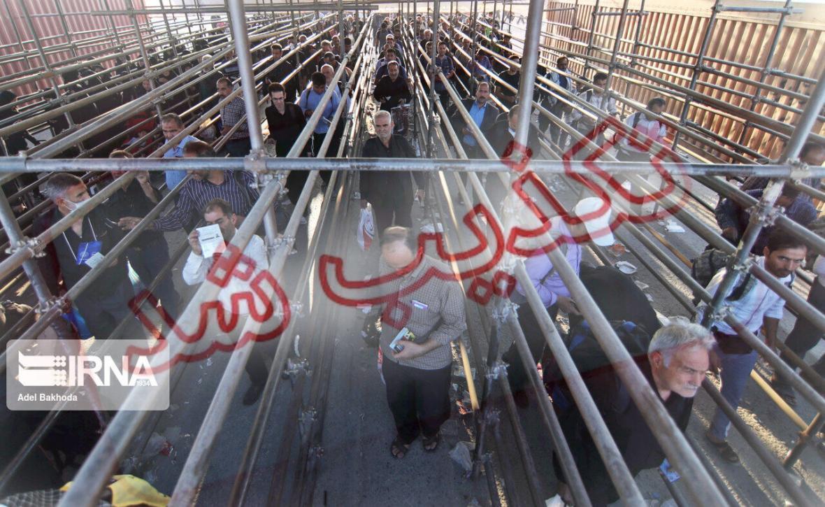 خبرنگاران پایانه مرزی مهران پذیرای هیچ زائری نیست
