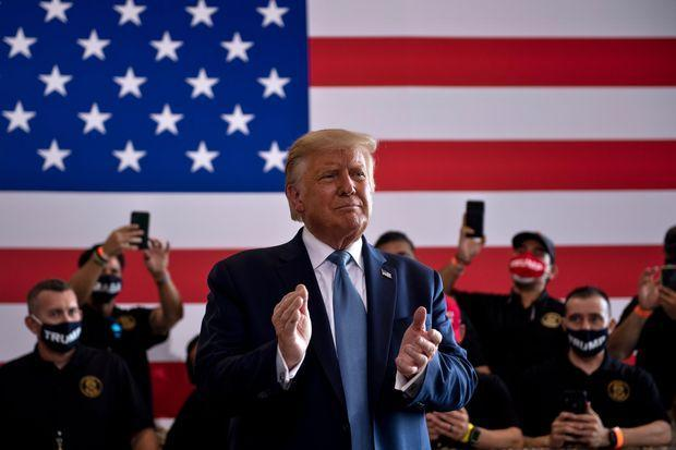 حمله ترامپ به بایدن: در مقابل ما عده ای دیوانه قرار گرفتند