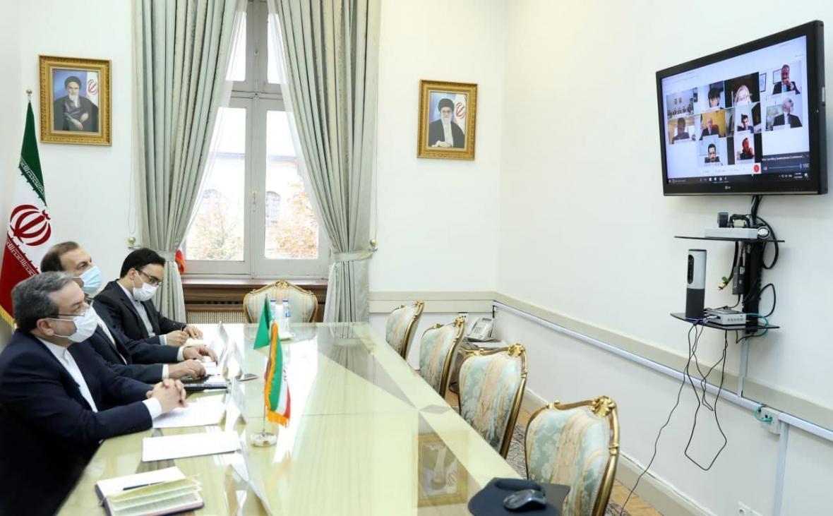 خبرنگاران نشست سیاسی معاونین وزرای خارجه ایران و ایتالیا برگزار گردید