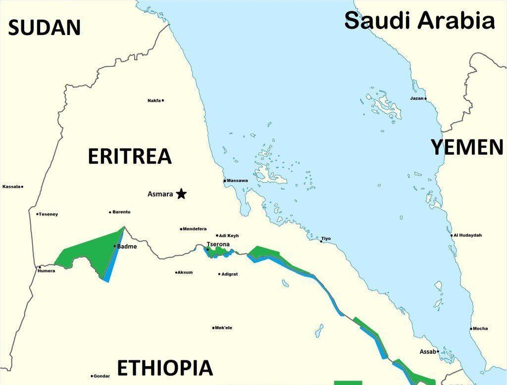 خبرنگاران پایتخت اریتره هدف حمله موشکی قرار گرفت