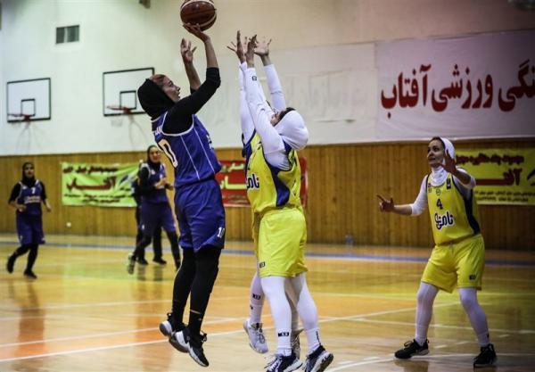 لیگ برتر بسکتبال بانوان، پالایش نفت آبادان به نیمه نهایی رسید
