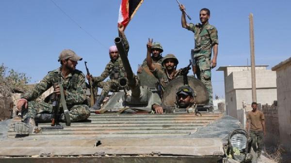 کشف سلاح های ساخت ناتو در یک مقر داعش در حمص سوریه