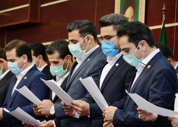 برگزاری مراسم تحلیف 32 کارآموز مرکز وکلای قوه قضائیه در لرستان