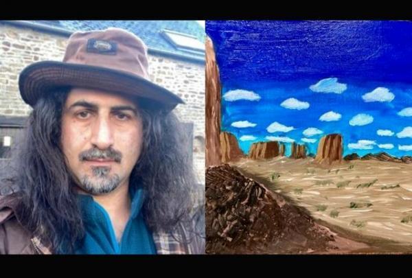 پسر بن لادن نقاش شد