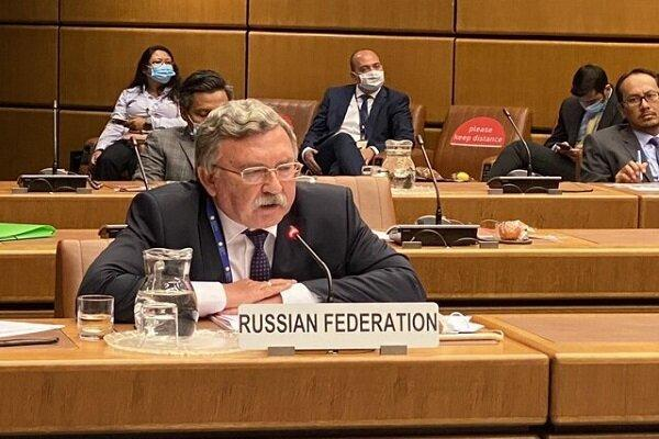 میخائیل اولیانوف با نماینده آمریکا در امور ایران ملاقات کرد