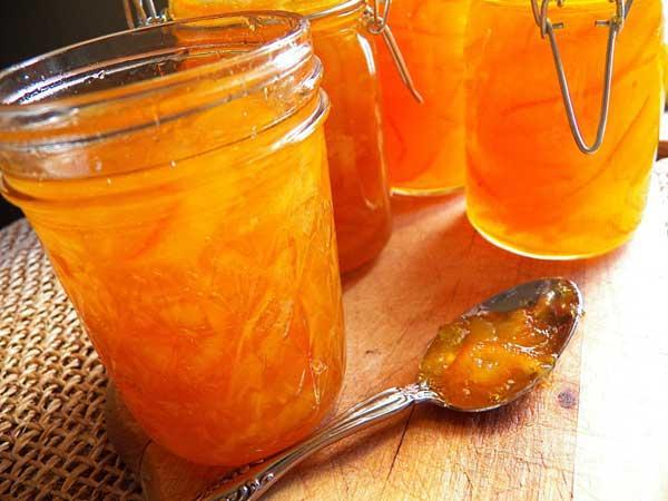 طرز تهیه مارمالاد پرتقال خانگی