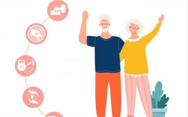 نکاتی برای پیری سالم