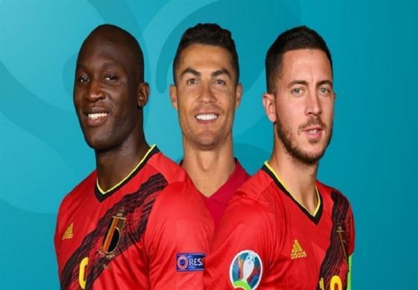 یورو 2020، اعلام ترکیب اصلی تیم های ملی بلژیک و پرتغال
