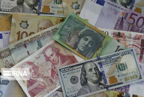 افزایش نرخ رسمی یورو و 21 ارز دیگر