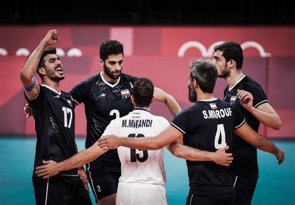صعود والیبال ایران در رده بندی جهانی