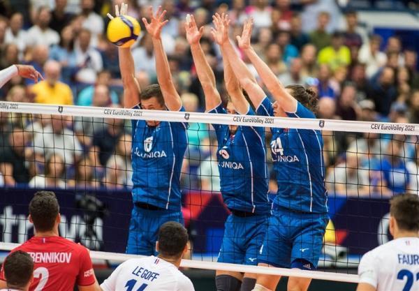 تور اروپا: والیبال قهرمانی اروپا، قهرمان المپیک حذف شد، روسیه و لهستان به هم رسیدند